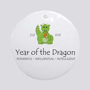 """""""Year of the Dragon"""" [2000] Ornament (Round)"""